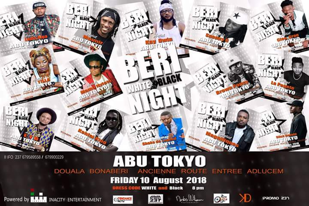 Beri White & Black Night