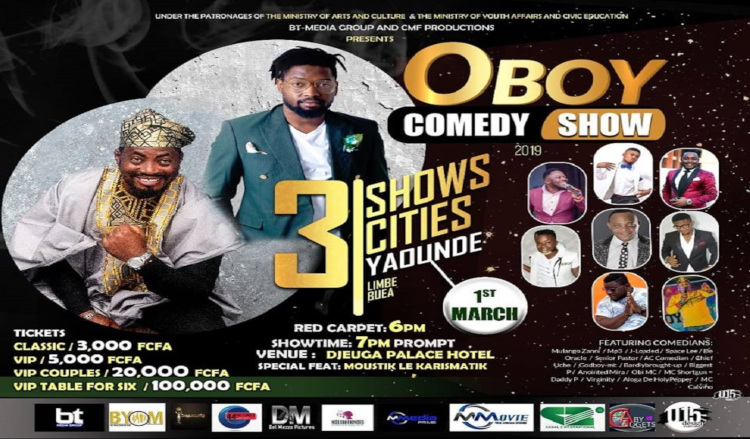 The OBOY Comedy SHOW 2019
