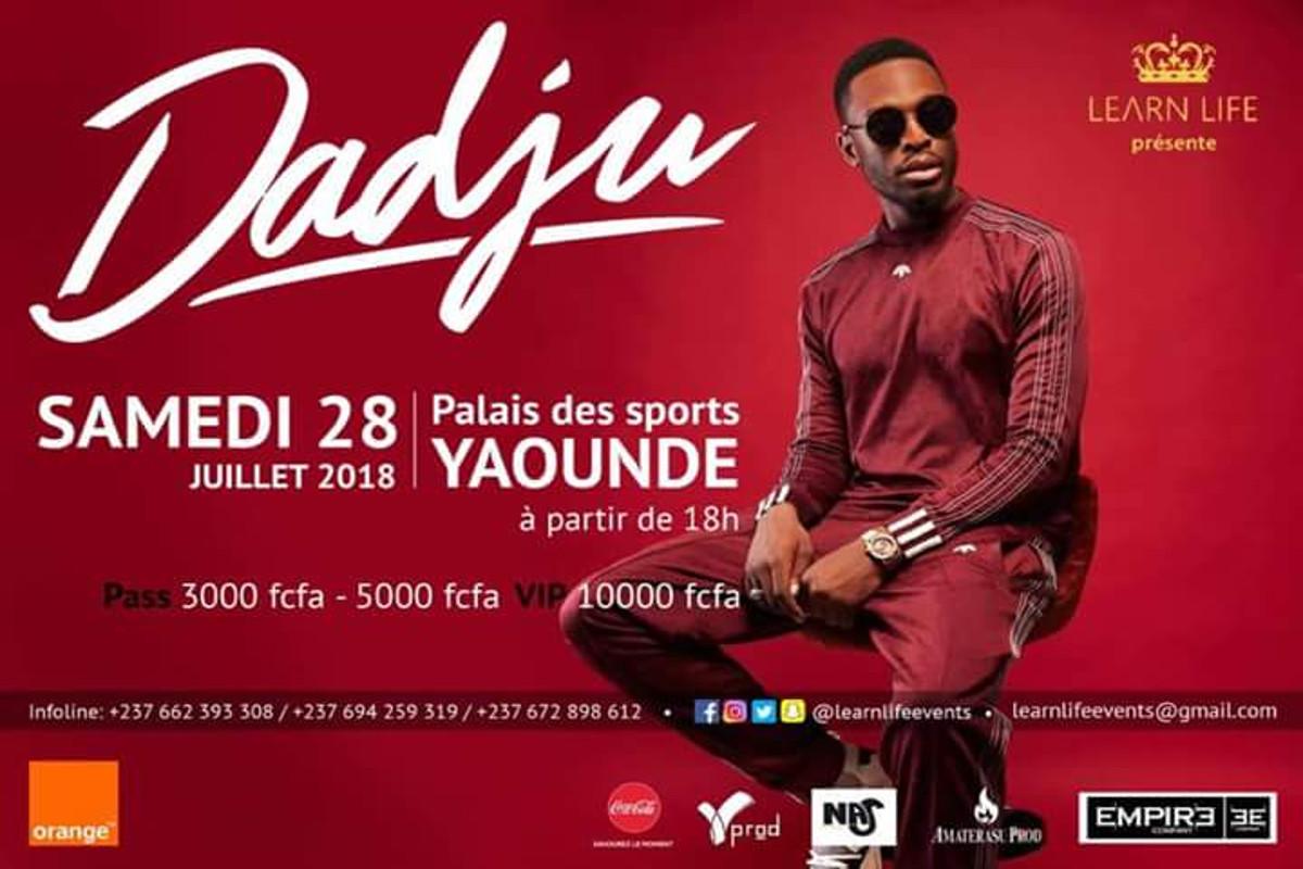 Le Concert de Dadju cogne les têtes de ses organisateurs