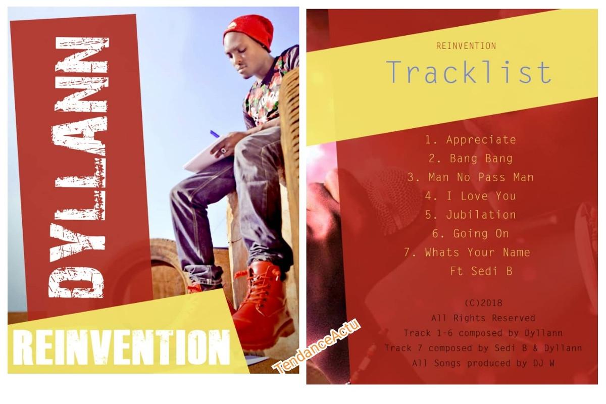 Dyllann présente son EP de 7 titres intitulé « Reinvetion »