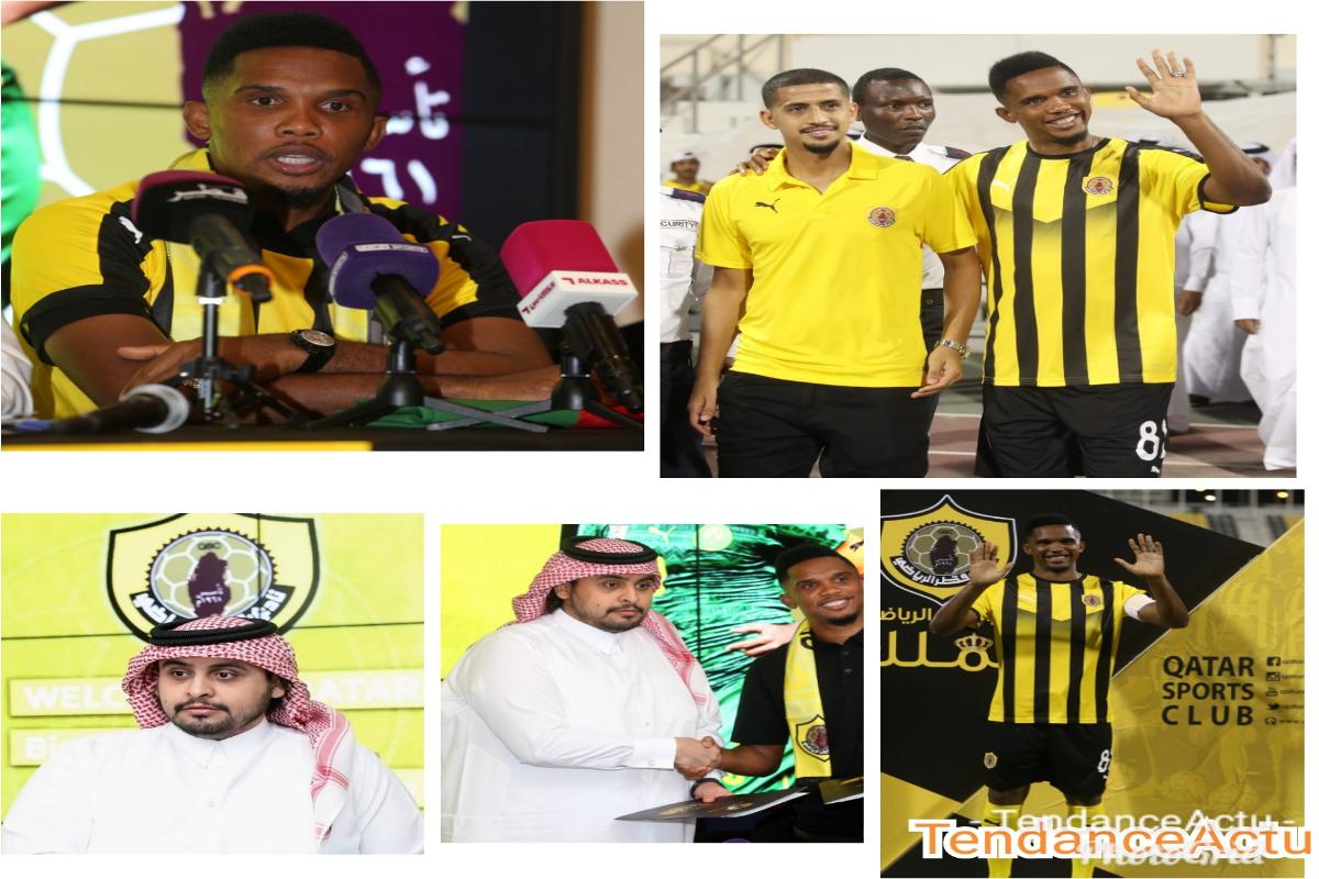 Samuel Eto'o Fils fait désormais partie de Qatar Sports Club
