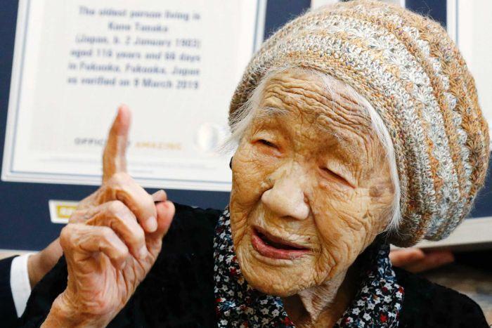 Kane TANAKA: désormais la personne la plus âgée du monde