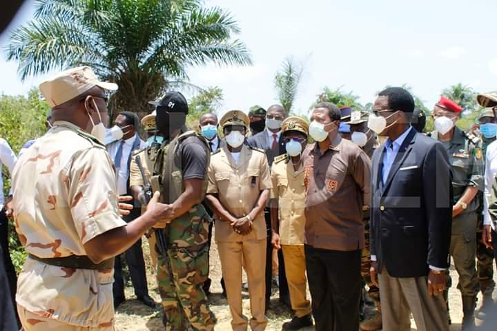 Une délégation de la défense équato-guinéenne au Cameroun