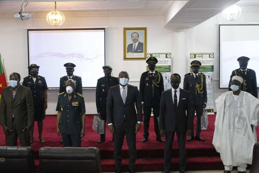 Cameroun-Covid-19: cinq Militaires récompensés par le Mindef
