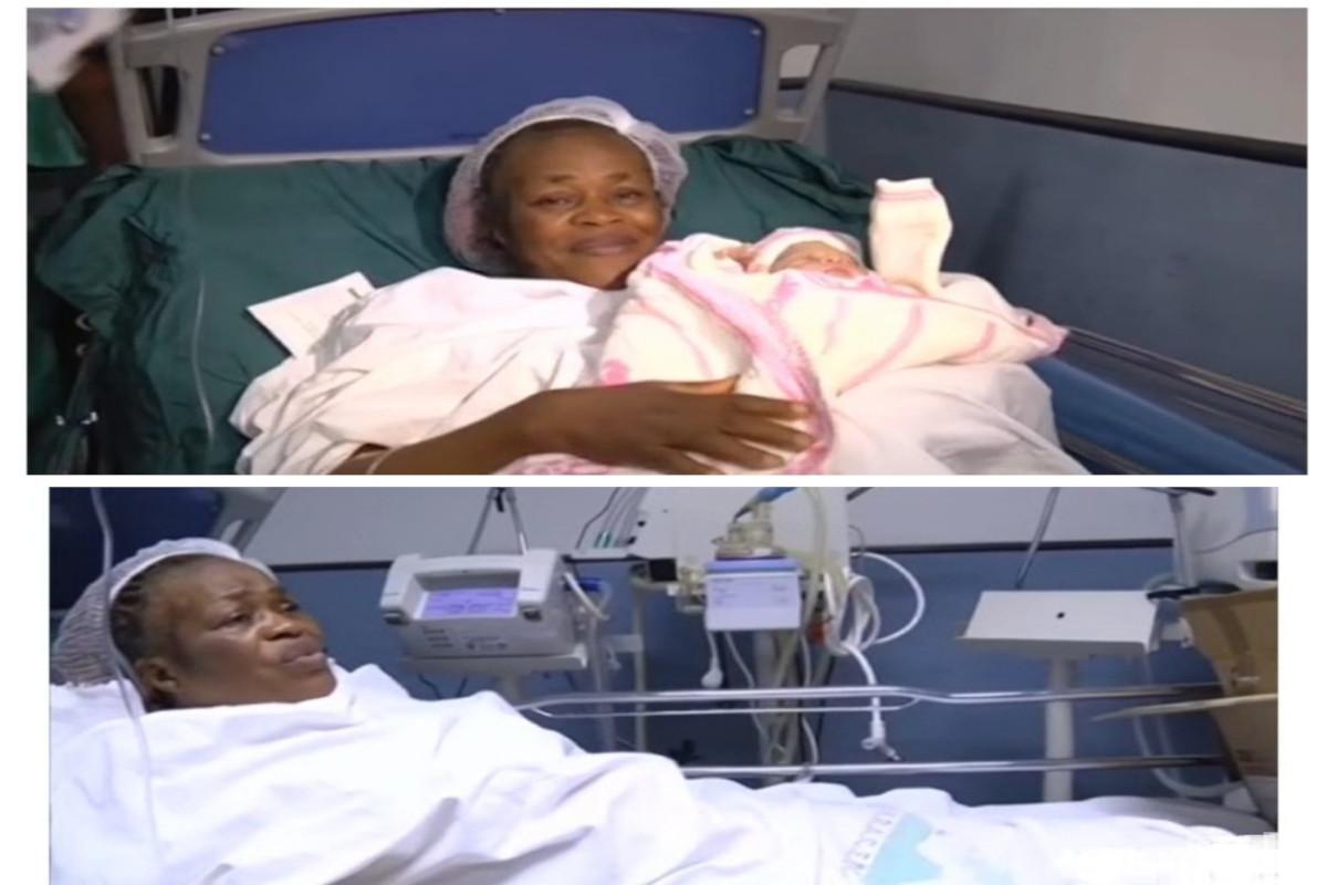 Elle accouche son premier Bébé à 62 ans
