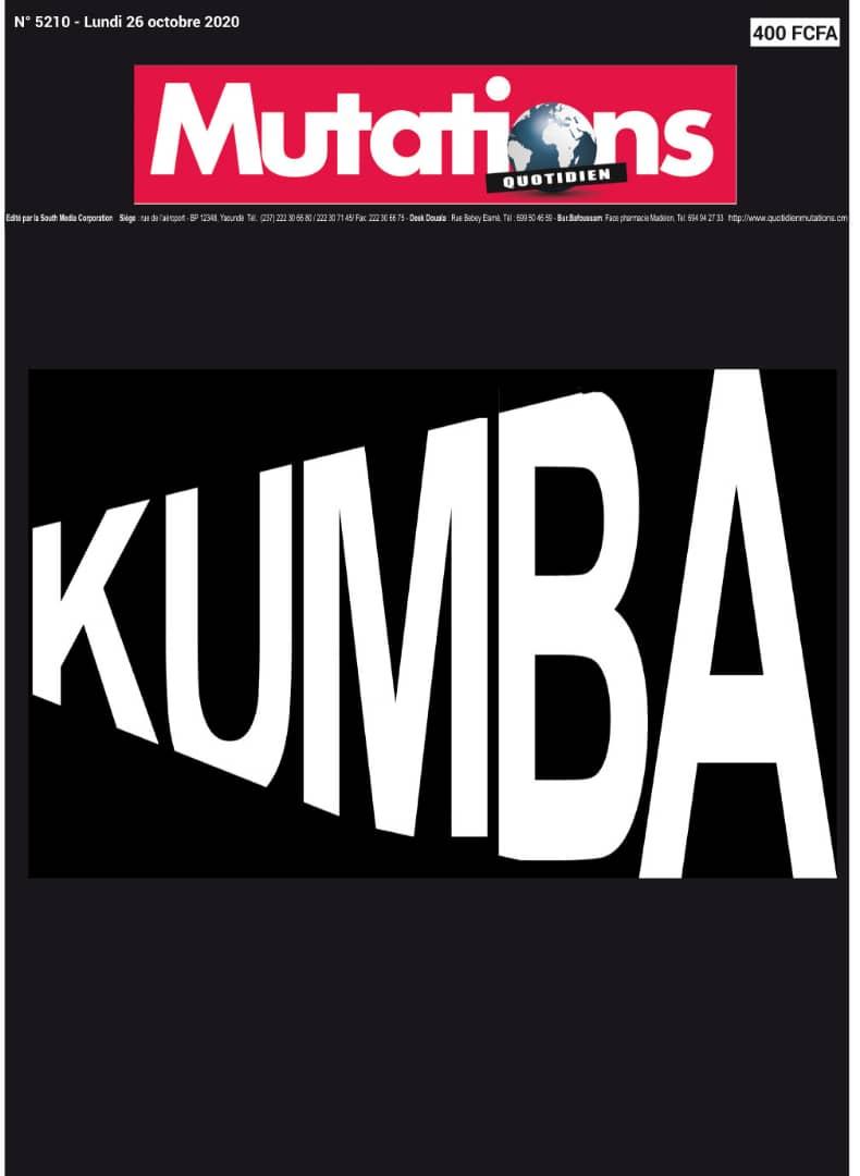 Massacre de Kumba: un autre décès enregistré, le MRC indexé.